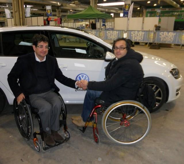 Disabilinauto inconta pancalli