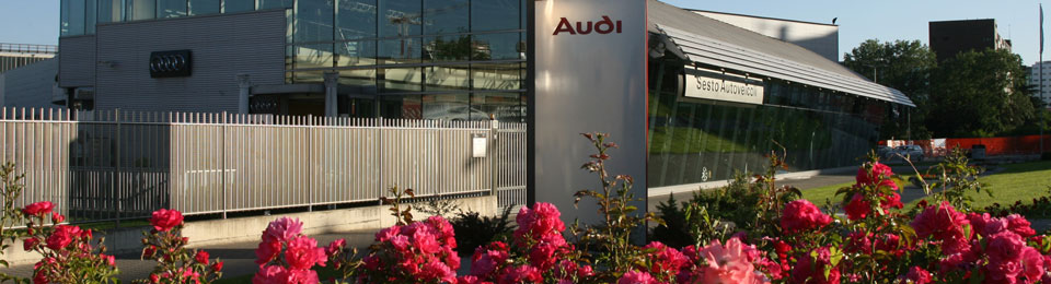 Audi-esterno-fiori