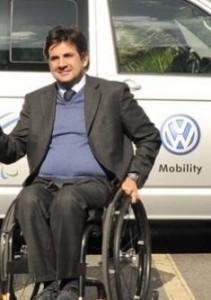 Luca Pancalli, presidente del Comitato Paralimpico