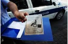parcheggi disabili vigili multa disabilinauto